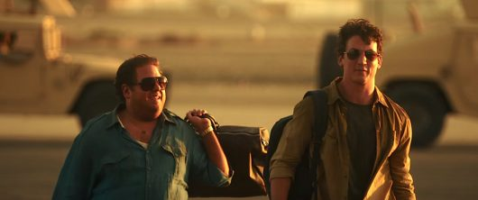 "Jonah Hill and Miles Teller in ""War Dogs."" Credit: Courtesy of TNS."