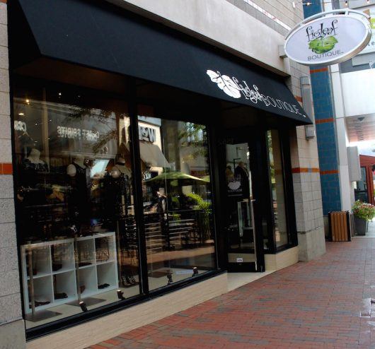 Figleaf Boutique recently made the move to Gateway. Credit: Hannah Herner | Arts&Life Editor