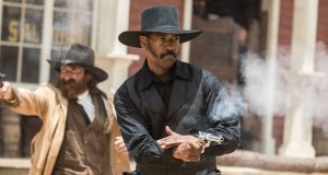 "Denzel Washington as Sam Chisolm in the movie ""The Magnificent Seven"" directed by Antoine Fuqua. Credit: Courtesy of TNS"