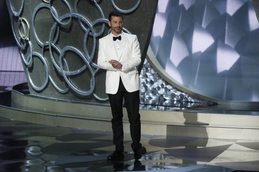 Jimmy Kimmel during the 68th Primetime Emmy Awards on Sept. 18. Credit: Courtesy of TNS