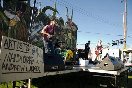 Local acts fill the stages at the 2015 Independent's Day Festival in East Franklinton. Credit: Courtesy of Independent's Day.
