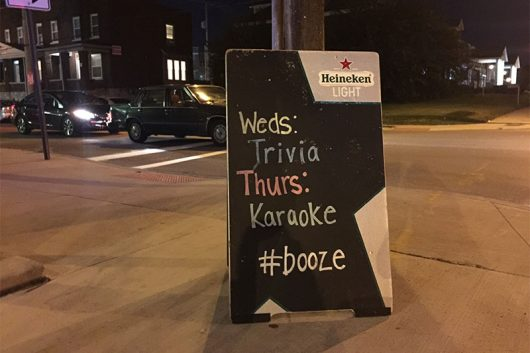 Oldfield's North Fourth Tavern at 1571 N 4th St. hosts karaoke on Thursday nights. Credit: Ghezal Barghouty | Lantern Reporter