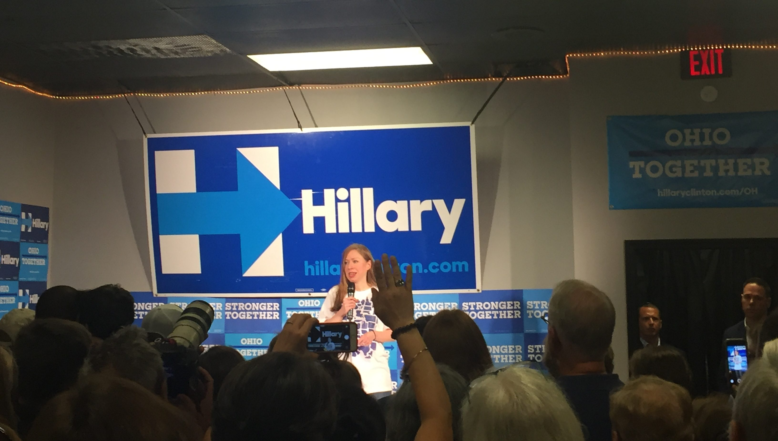 Chelsea Clinton to campaign in Columbus area Wednesday