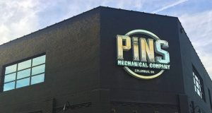 Pins Mechanical Company recently opened at 141 N. 4th St. Credit: Ghazal Barghouty | Lantern Reporter