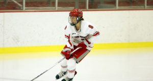 Ohio State women's hockey vs Penn State Sunday, Jan. 3, 2016, in Columbus, Ohio. (Photo/Jay LaPrete)
