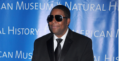 Kenan Thompson attends the American Museum of Natural History's 2010 Museum Gala in New York City on November 18, 2010. Credit: Courtesy of TNS