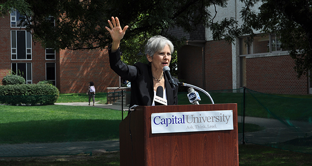 Third-party candidates find support on campus