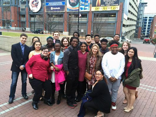 TAG students attending Motown the Musical at the Ohio Theatre in February. Credit: Courtesy of Annelise Dahl