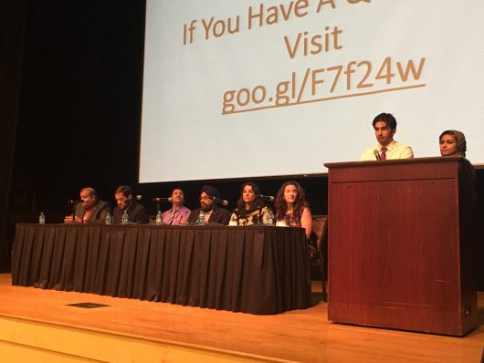 The Muslim Student Association hosts a panel to draw attention to mental wellness in minority groups. Credit: Dominique Johnson