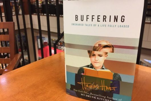 """Buffering: Unshared Tales of a Life Fully Loaded"" is written by YouTuber Hannah Hart, who will be doing a book signing on Oct. 22 at the Univesity Bookstore. Credit: Elizabeth Tzagournis"