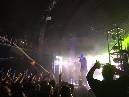Insane Clown Posse performs at Newport Music Hall on Oct. 30. Credit: Noah Wotring | Lantern reporter