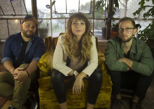 Local band Hello Luna is made up of Diego Vilasmil, Kenzie Ryan and Michael Neumaier (L to R). Credit: Courtesy of Brad Williams