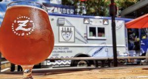 The Hai Poké food truk at Zauber brewery. Credit:  Courtesy of Mico Cordero and Nile Woodson