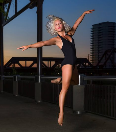 Miriam King is a professional dancer that teaches classes for people with Parkinson's. Credit: Courtesy of Miriam King