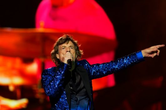 Mick Jagger of the Rolling Stones performs at Ohio Stadium on May 30 as part of their Zip Code Tour. Credit: Kevin Stankiewicz | Oller Reporter