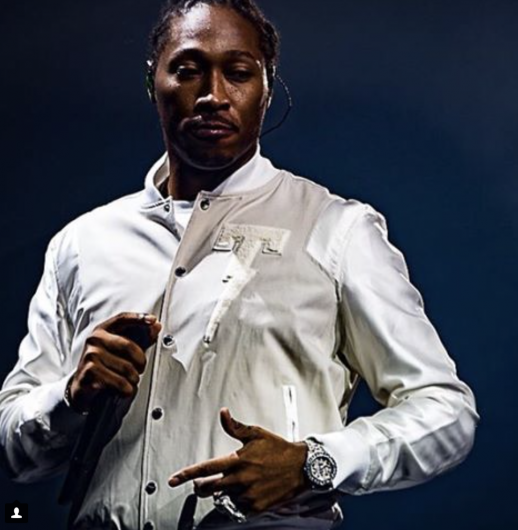 Rapper Future wears Tackma fashions. Credit: Courtesy of Tackma