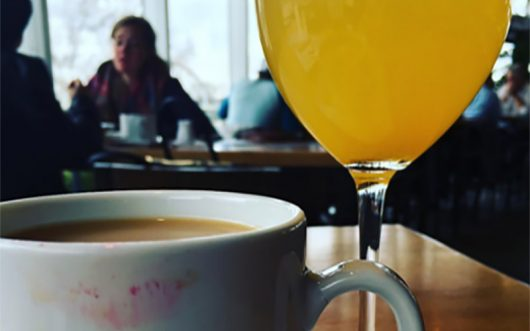 Coffee and mimosas are a constant staple of brunches everywhere. Credit: Sallee Ann Ruibal | Editor In Chief