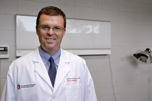 Dr. James Borchers is the head team physician for OSU athletics and Director of Medical Services for The Ohio State Univeristy Wexner Medical Center. Credit: Courtesy of OSU Department of Athletics