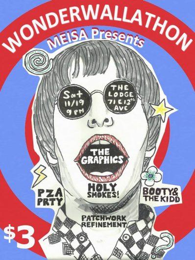 A poster for MEISA's Wonderwallathon on Nov. 19. Credit: Courtesy of Sarah Drees