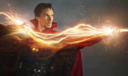 "Benedict Cumberbatch as Dr. Stephen Strange in a scene from the movie ""Docter Strange"" directed by Scott Derrickson. Credit: Courtesy of TNS"