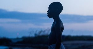 """Jaden Piner as Kevin in a scene from the movie """"Moonlight"""" directed by Barry Jenkins. Credit: Courtesy of TNS"""