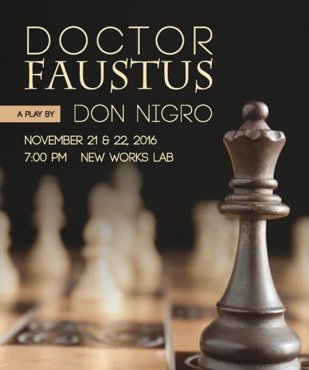 "Nathan Sims is set to direct ""Doctor Faustus"" as part of the Department of Theatre Lab Series on Nov. 21 and 22. Credit: Courtesy of Nathan Sims"
