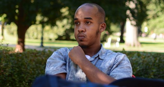 The initial photo of Abdul Razak Ali Artan that appeared in an August issue of The Lantern. Credit: Kevin Stankiewicz | Oller Reporter