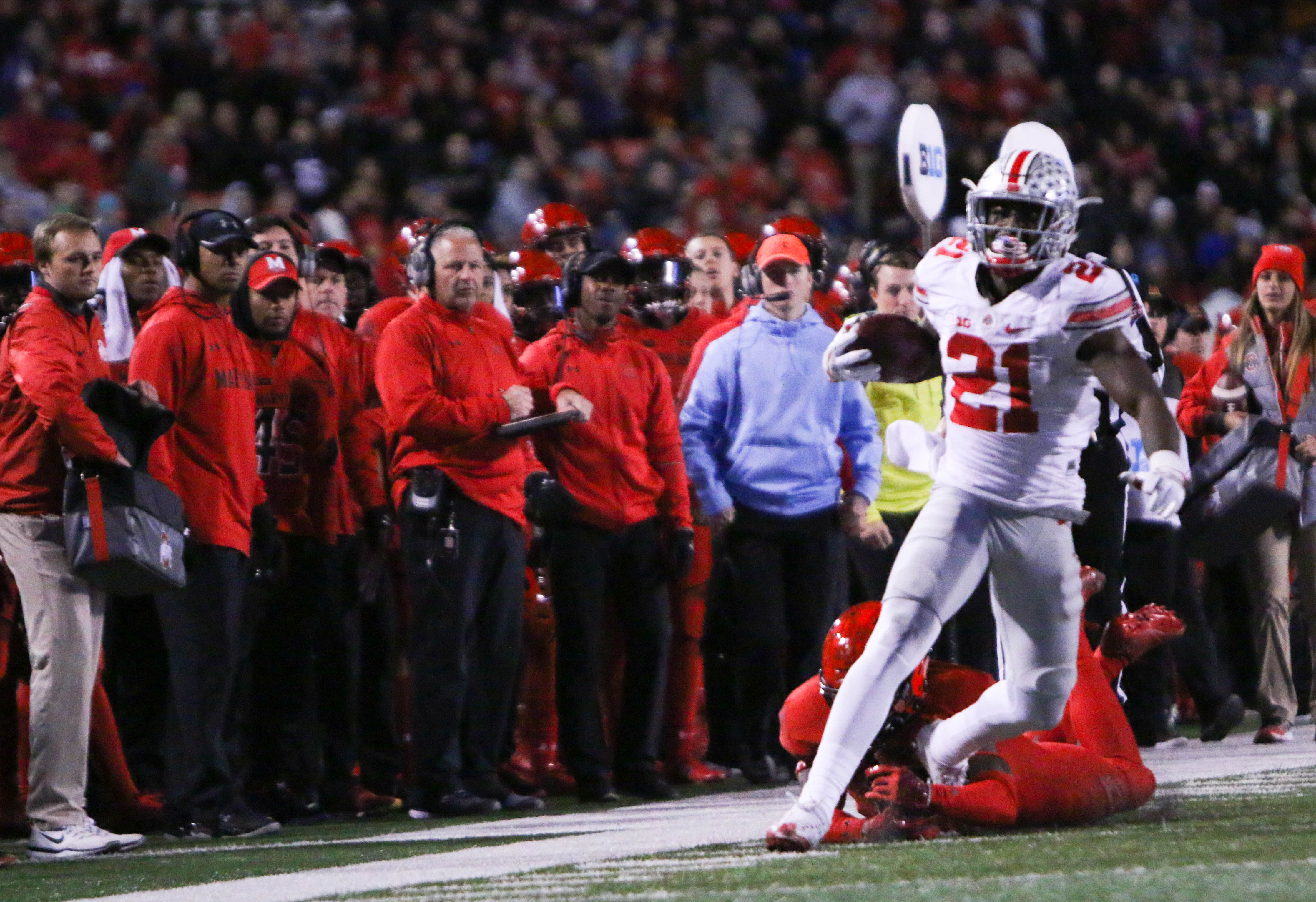 Football: Urban Meyer names Parris Campbell Ohio State's 'best playmaker' and current H-back