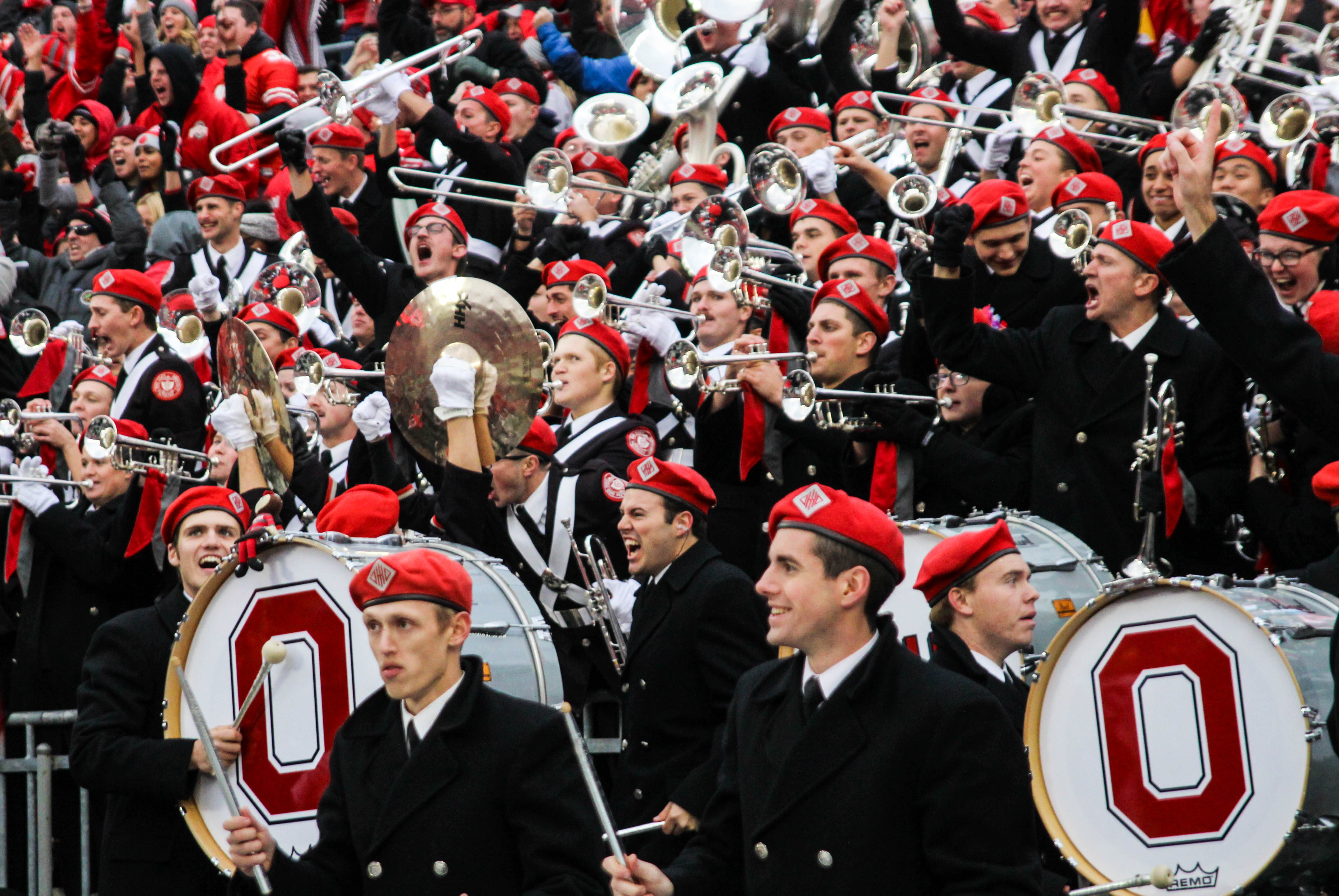 Ohio State Marching Band shows off its skills in hometown concert