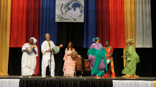 A musical group perform at the 2015 Columbus International Festival. Credit: Courtesy of Mohammed Mohsin Ahmed