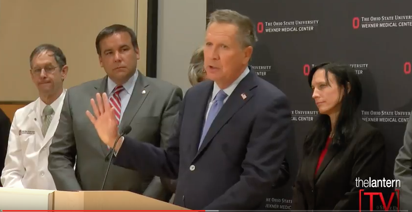 Second official press conference: Attacker at Ohio State injures nine people