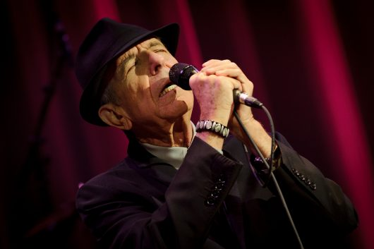 Leonard Cohen was a Canadian singer-songwriter, poet and artist. Credit: Courtesy of TNS