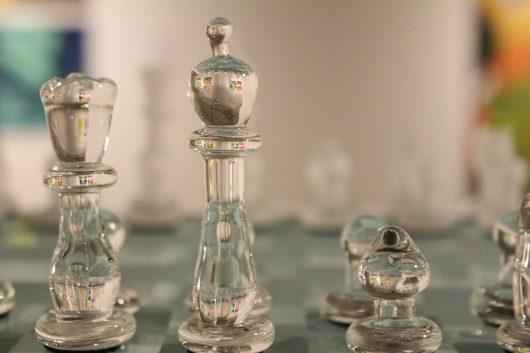 "Nathaniel Barbone's ""Chess Set."" Credit: Kathleen Senge | Lantern Reporter"