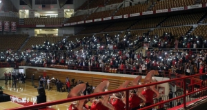 Scarlet Scoop: Students hold vigil following Monday's attack