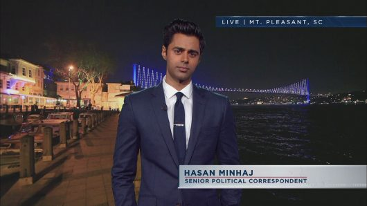 """Hasan Minhaj is a correspondant for """"The Daily Show with Trevor Noah."""" Credit: Courtesy of Comedy Central"""