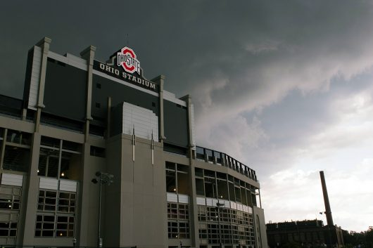 A photo of Ohio Stadium taken by photography club member Joshua Farr. Credit: Courtesy of Joshua Farr
