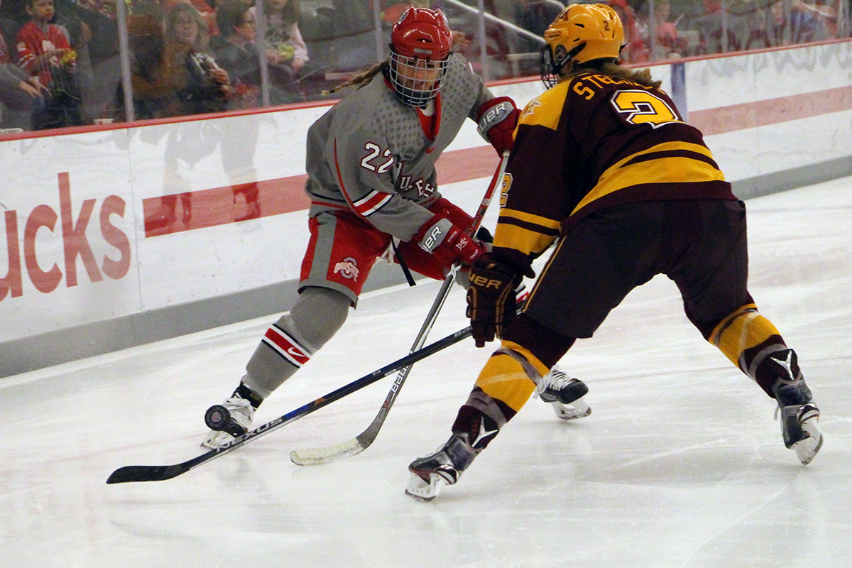 No. 7 Ohio State remains undefeated, sweeps No. 5 Duluth