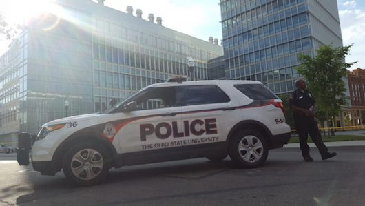 in an Analysis of Big 10 and Midwestern schools, Ohio State was found to have the lowest police to student ratio. Credit: Michael Huson | Managing Editor for Content