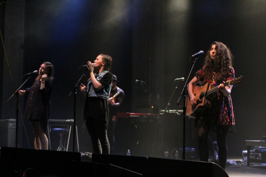 Joseph performs at Newport Music Hall on Dec. 8. Credit: Elizabeth Tzagournis | Lantern reporter