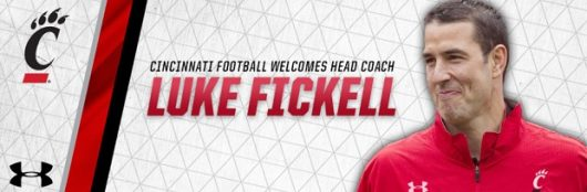 Ohio State's Luke Fickell named head coach of the University of Cincinnati. Credit: Courtesy of University of Cincinnati Athletics