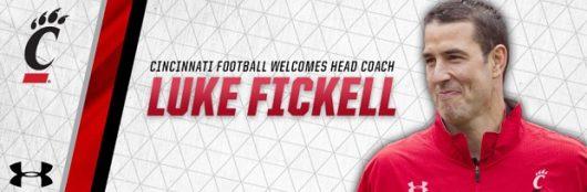 Ohio State's Luke Fickell named head coach of the University of Cincinnati. Credit: Courtesy of University of Cincinnati Athletics