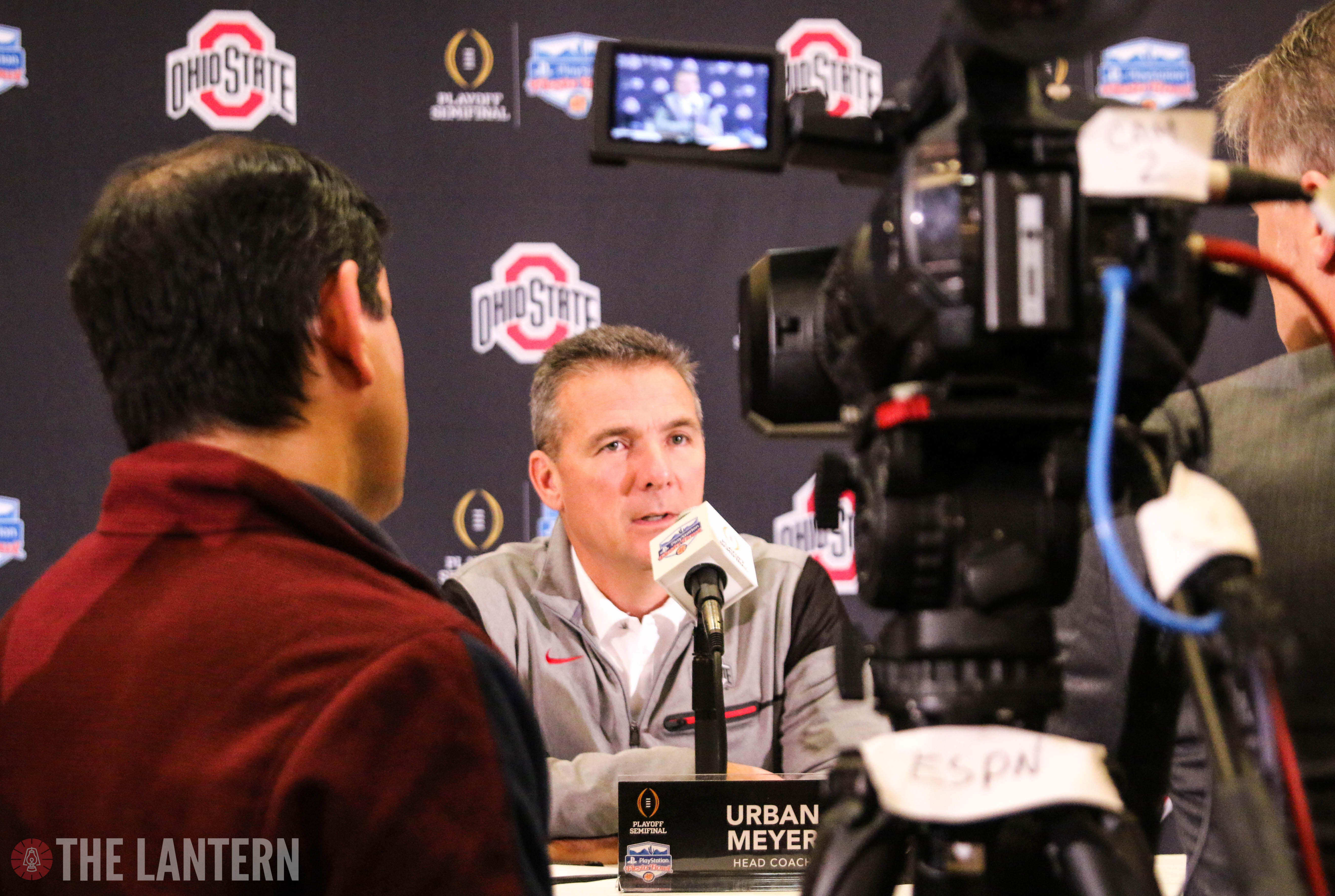 Football: Urban Meyer's press conference reveals Browning injury, Campbell at H-back and more
