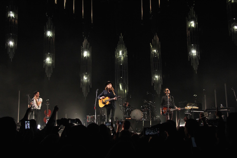 The Lumineers take the stage on Jan. 28 at The Schottenstein Center in Columbus. Credit: Ashley Nelson | Sports Director
