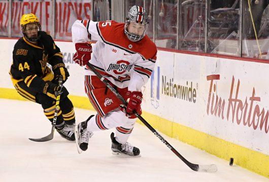 "Men's Hockey: No. 8 Buckeyes look to ""take care of ..."