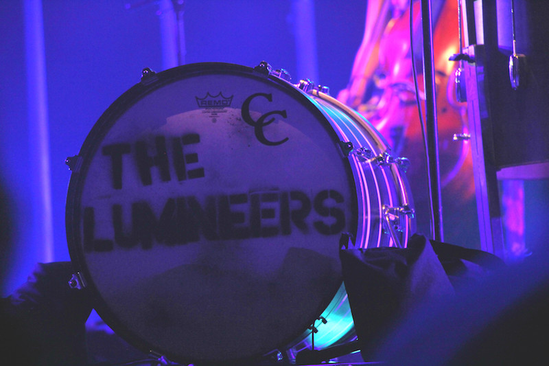 Folk-rock band, The Lumineers, performed on Jan. 28 at The Schottenstein Center in Columbus. Credit: Ashley Nelson | Sports Director