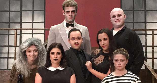 'The Addams Family' creeps onto campus