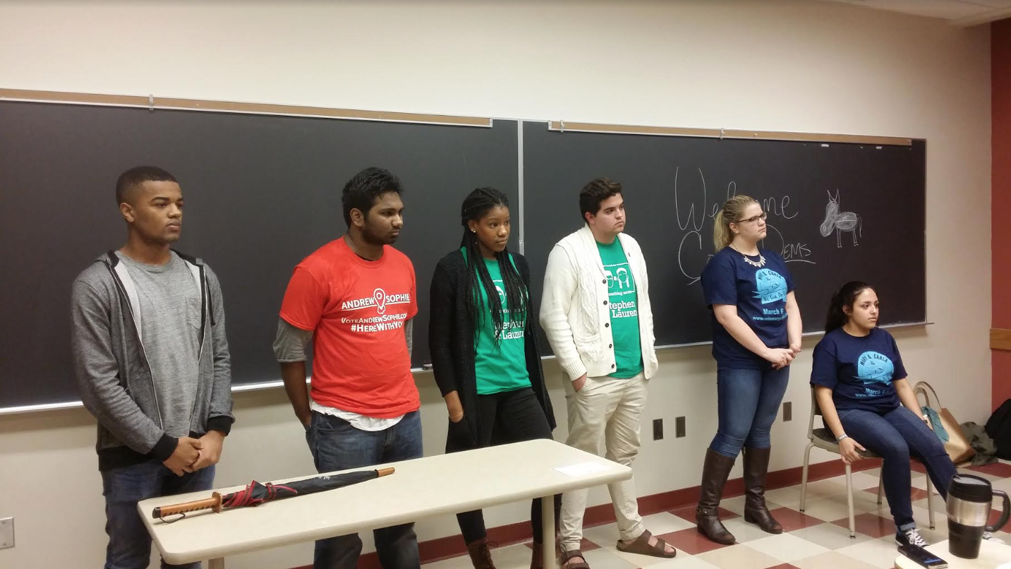Divestment, sanctuary campus discussed at USG candidate forum; only three of four candidates invited