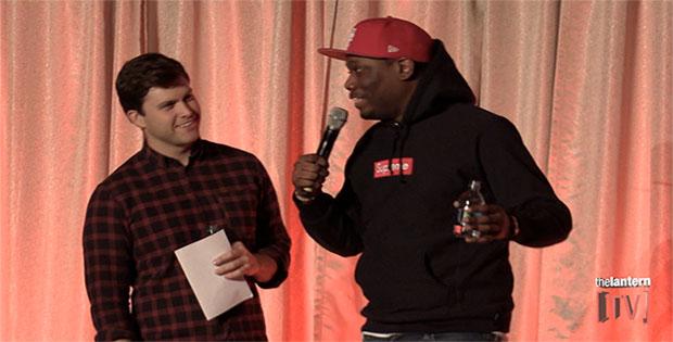 Saturday Night Live Hosts Colin Jost & Michael Che Visit OSU Campus (Exclusive Interview)
