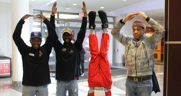 High-school students live like Buckeyes for a day