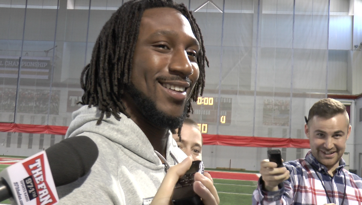 Football: Malik Hooker unveils Jordan sponsorship as he continues labrum and hernia surgery recovery